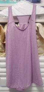 Lululemon Essential tank top lilac purple pink sz8
